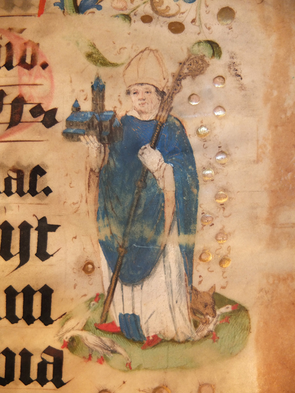 Bildnis des Hl Liudger - (c) Abtei Werden