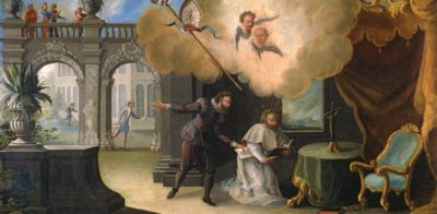 Gemälde: Berufung des hl. Liudger